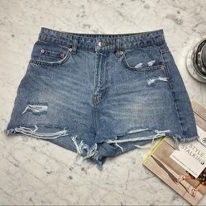 Wild Fable Distressed Vintage Denim Jean Shorts